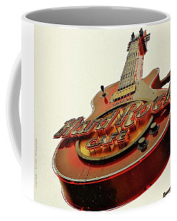Coffee Mug featuring the photograph Hard Rock Cafe' by Al Fritz