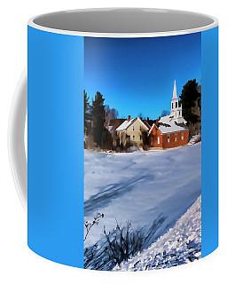 Coffee Mug featuring the photograph Harrisville Pond II by Tom Singleton