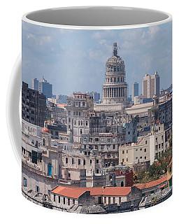 Havana Skyline Coffee Mug by David Warrington