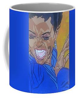 Coffee Mug featuring the painting Hazel Scott by Rachel Natalie Rawlins