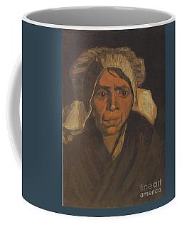 Head Of A Peasant Woman Coffee Mug
