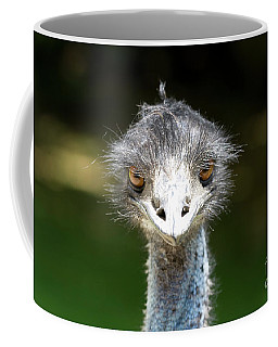 Head Of Ostrich Coffee Mug