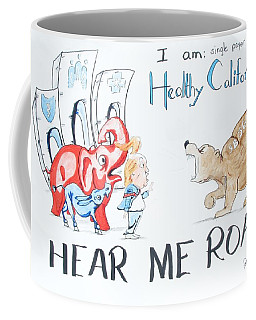 Hear Me Roar Coffee Mug