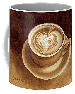 Heart Latte II Coffee Mug