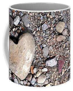Coffee Mug featuring the photograph Heart Of Stone by Danielle R T Haney