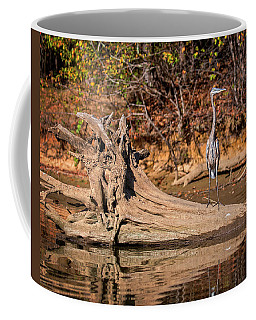 Heron Perch Coffee Mug