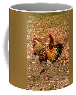 High-stepping Rooster Coffee Mug