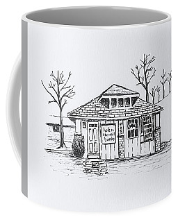 Hole In The Wall Books Coffee Mug