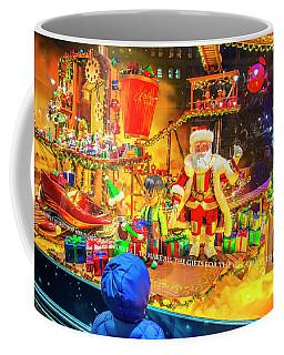 Holiday Widow Display In New York Coffee Mug