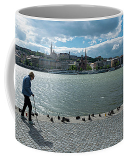 Holocaust Memorial Budapest Coffee Mug