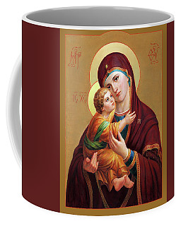 Holy Mother Of God - Blessed Virgin Mary Coffee Mug