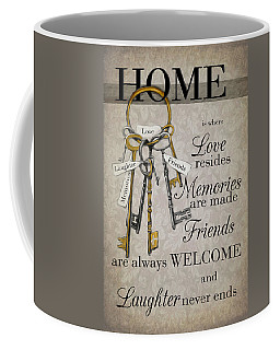 Coffee Mug featuring the photograph Home by Robin-Lee Vieira