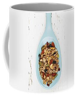 Homemade Granola In Spoon Coffee Mug