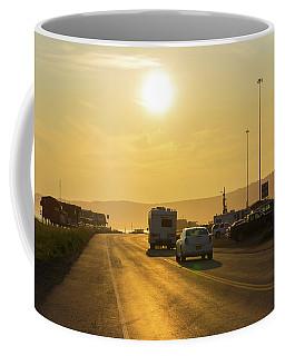 Homer - Alaska Coffee Mug by David Warrington