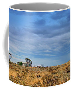 Coffee Mug featuring the photograph Homestead by Tim Nichols