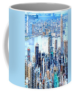 Hong Kong Skyline Coffee Mug