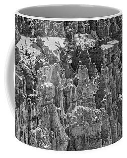Coffee Mug featuring the photograph Hoodoos After A Snowfall In Bryce Canyon by Sue Smith