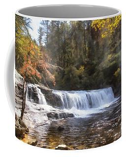 Hooker Falls Coffee Mug by Ricky Dean