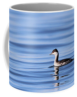 Horned Grebe Kings Park New York Coffee Mug