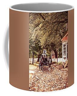 Horse Drawn Wagon Coffee Mug