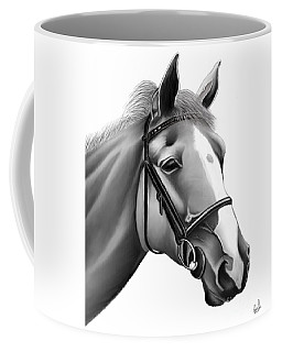Horse Coffee Mug by Rand Herron