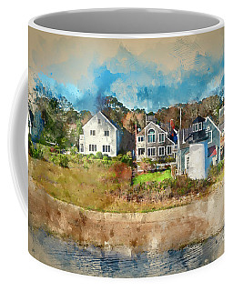Hyannis Light Coffee Mug by Jack Torcello