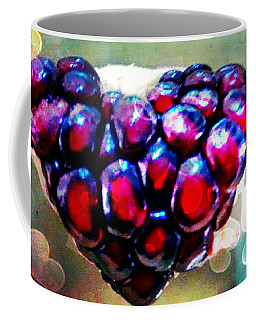 Coffee Mug featuring the painting I Heart You by Genevieve Esson