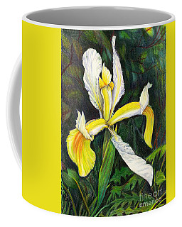Coffee Mug featuring the drawing I Rise To Thee by Nancy Cupp