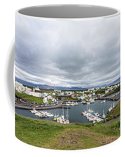 Iceland Fisherman Harbor Coffee Mug