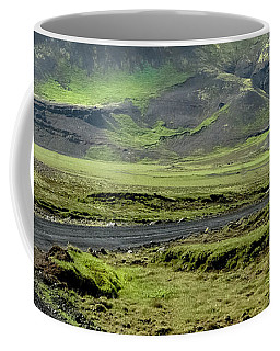 Coffee Mug featuring the photograph Icelandic Landscape by KG Thienemann