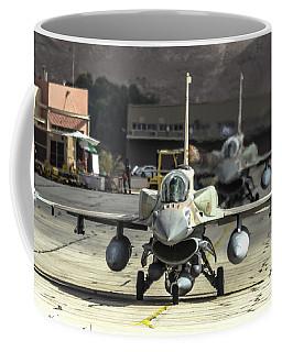 Idf/af F-16i Sufa - Blue Flag 2017 Coffee Mug