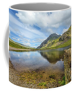 Coffee Mug featuring the photograph Idwal Lake Snowdonia by Adrian Evans
