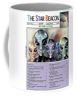 Magazine  Illustration Coffee Mug