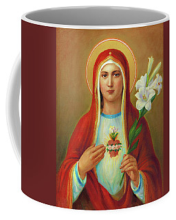 Immaculate Heart Of Mary Coffee Mug