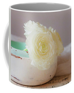 Coffee Mug featuring the photograph In A White Bowl by Kim Hojnacki