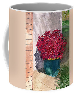 Coffee Mug featuring the painting In The Morning by Melly Terpening