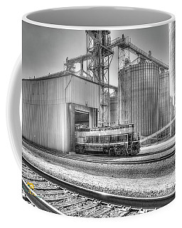 Coffee Mug featuring the photograph Industrial Switcher 5405 by Jim Thompson