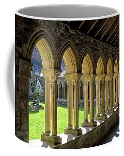 Iona Abbey Scotland Coffee Mug by Jacqi Elmslie