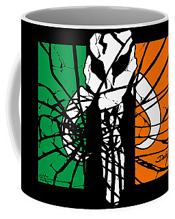 Irish Mandalorian Flag Coffee Mug