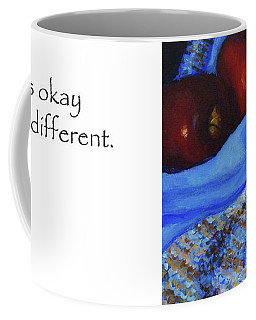 It's Okay To Be Different Title On Side Coffee Mug