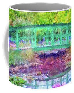 Japanese Footbridge At Phipps Conservatory 2 Coffee Mug