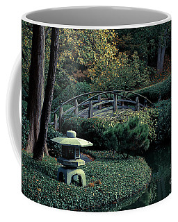 Coffee Mug featuring the photograph Japanese Garden In Summer by Iris Greenwell