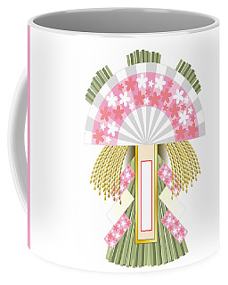 Japanese Newyear Decoration Coffee Mug