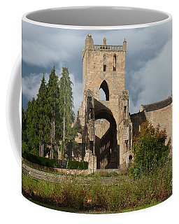 Coffee Mug featuring the photograph Jedburgh Abbey  by Phil Banks