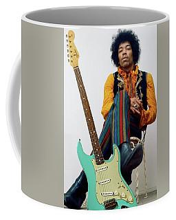 Jimi Hendrix, Fender Guitar Coffee Mug