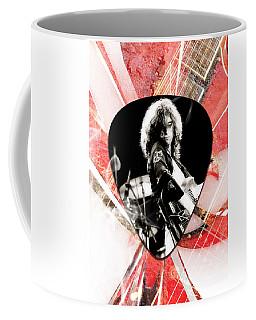 Jimmy Page Led Zeppelin Art Coffee Mug