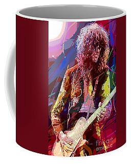 Jimmy Page Les Paul Gibson Coffee Mug