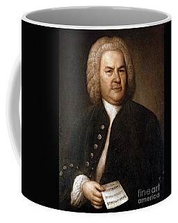 Johann Sebastian Bach, German Baroque Coffee Mug
