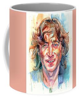 John Lennon Portrait Coffee Mug