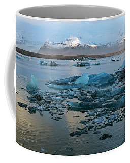 Coffee Mug featuring the photograph Jokulsarlon, The Glacier Lagoon, Iceland 5 by Dubi Roman